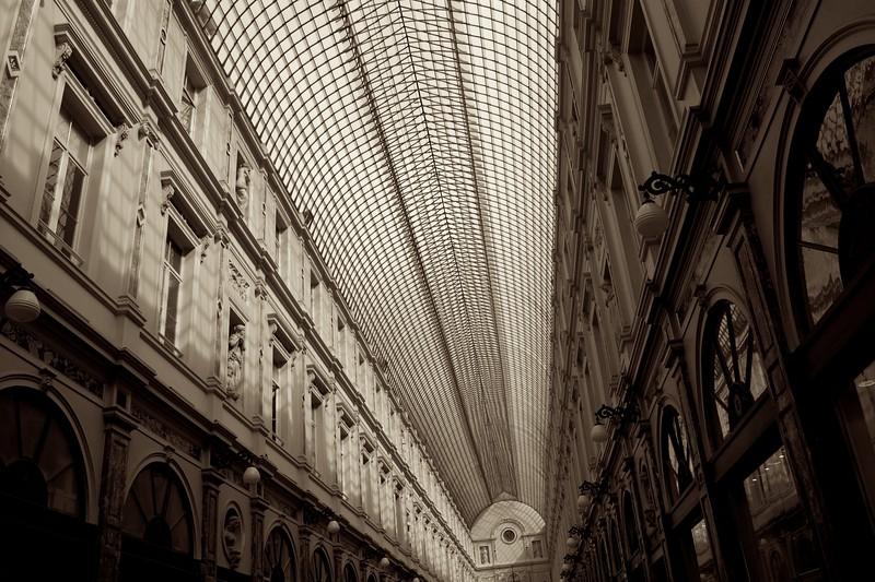 Brussels' arcade