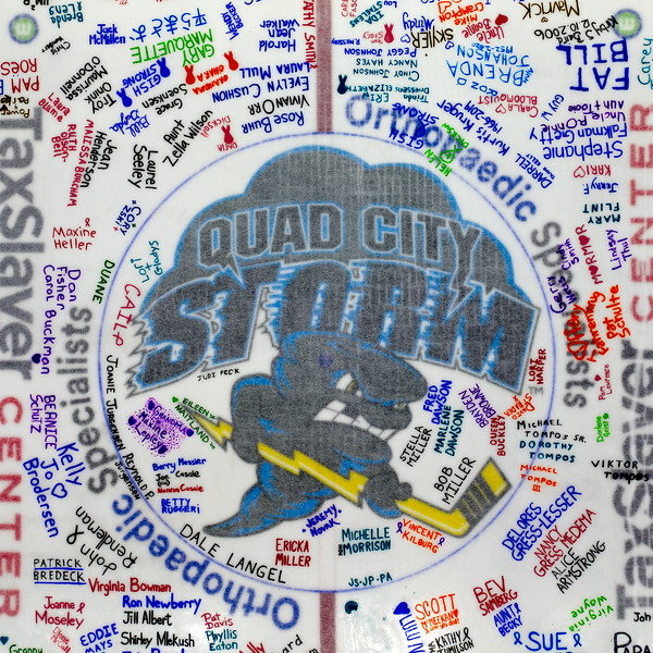 Quad City Storm Paint the Ice