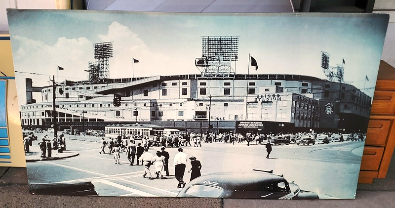 Giant Briggs Stadium Giclée Oil