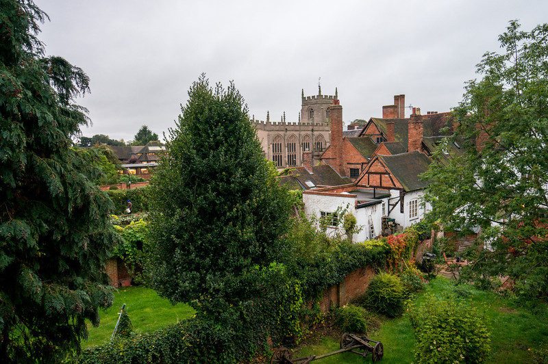 View from our room at the Shakespeare Hotel