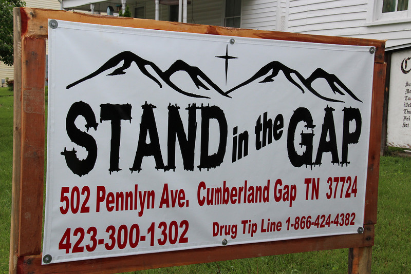 Stand in the Gap's New Headquarters-  502 Pennlyn Ave. Cumberland Gap, Tennessee  Stand in the Gap will be able to expand it's vision and scope of work from this much larger space.