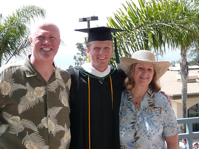 Michael Clouse PLNU Graduation May 2008