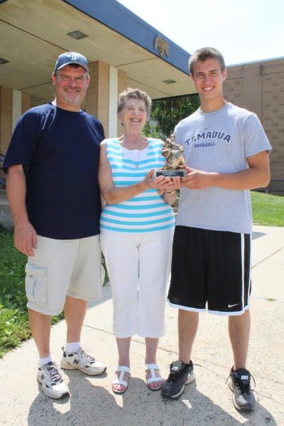 Baseball Award, Tamaqua HS, Tamaqua (8-19-2011)
