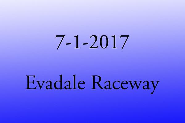 7-1-2017 Evadale Raceway  'SSS Bracket Racing'