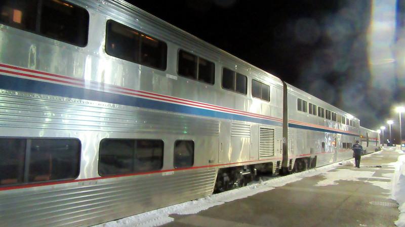 Amtrak's Empire Builder Seattle to Chicago