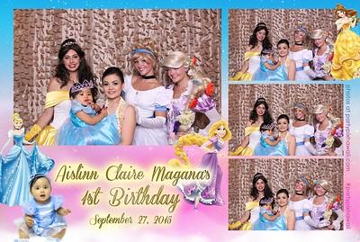 Aislinn's 1st Birthday (Mini Open Air Photo Booth)