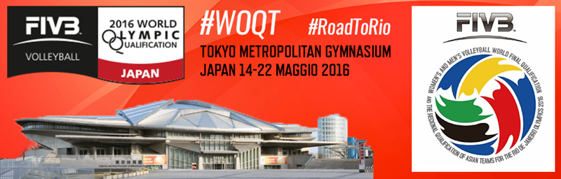 2016 Women's Volleyball World Final Olympic Qualification #RoadToRio #WOQT