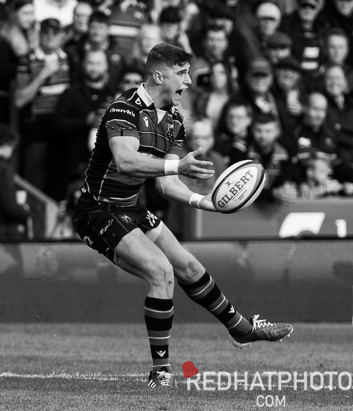 Northampton Saints - 2019-20 season in black and white