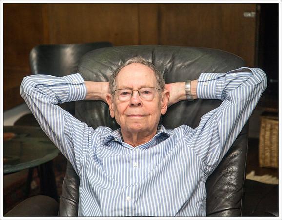 Leonard's Terrific 87th Birthday
