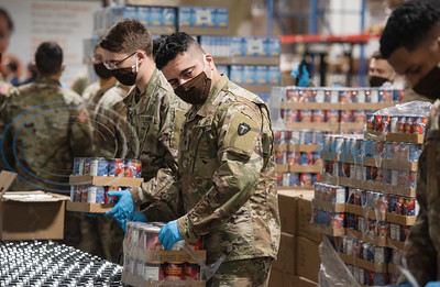 East Texas Food Bank Press Conference with Texas Army National Guard by Sarah A. Miller