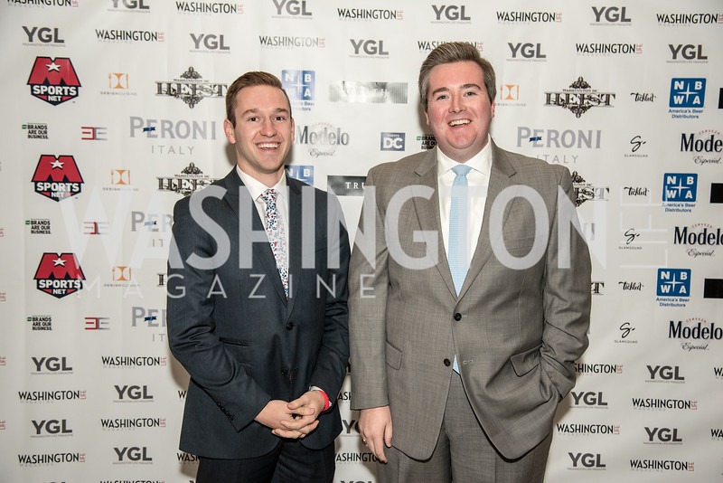 Riley Kilburg, John McCarthy, Washington Life Magazine, The Young and the Guest List, YGL, Union Station, November 10, 2017, photo by Ben Droz.
