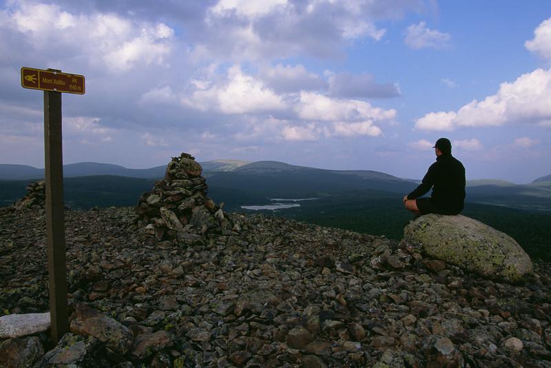 Sommet du mont Xalibu - Parc national de la Gaspésie, Québec