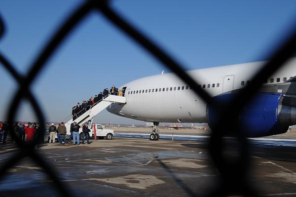 Lockheed L-1011 Arrives in Kansas City