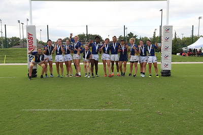 Berkeley All Blues Rugby Women 2019 USA Rugby Club 7s National Championships