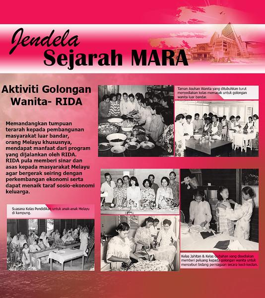Aktiviti Golongan Wanita -RIDA