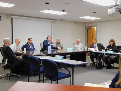Medina council, county commissioners meet to discuss shared courthouse