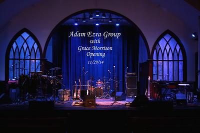 Adam Ezra Group / Grace Morrison at Spire 11/27/14