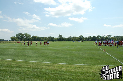 Iowa State First Fall Practice 2010