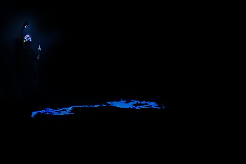 Blue fire of Ijen