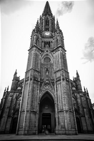 Local Cathedral in San Sebastian