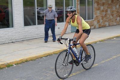 Bike Tour for Polio, Rotary, Tamaqua (6-28-2011)
