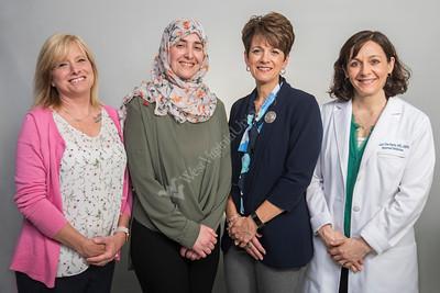 35660 WVU Hospital Internal Medicine Portraits & Group of 4 May 2019