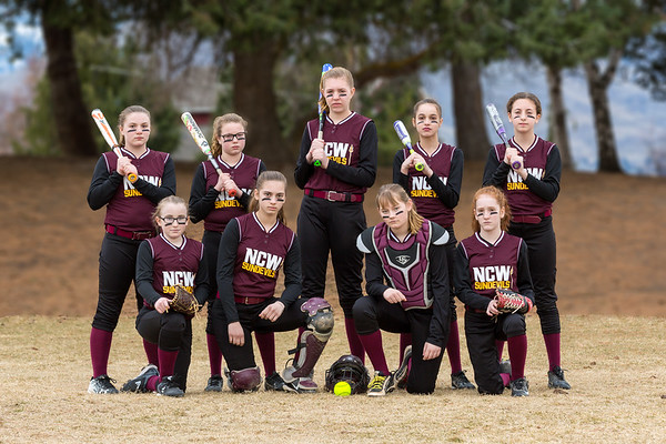 NCW Sun Devils Softball Teams 3.4.2018