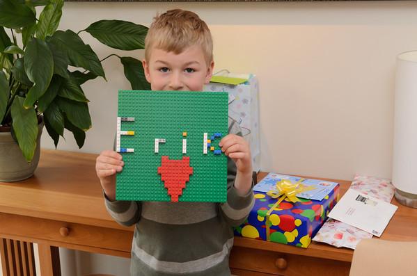 Erik's First Birthday 2012