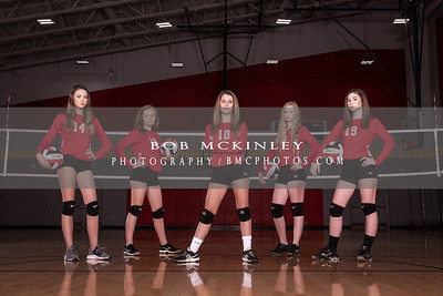 2018 BMCMS Volleyball