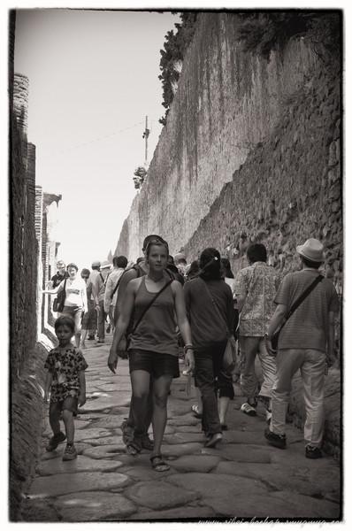 Jalan Pompeii 2011 (b&w)