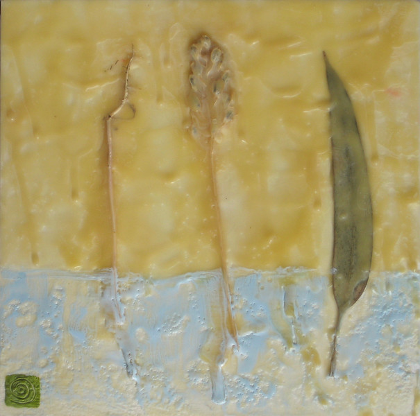 "2005 8""x 8"" encaustic on board (rr)"