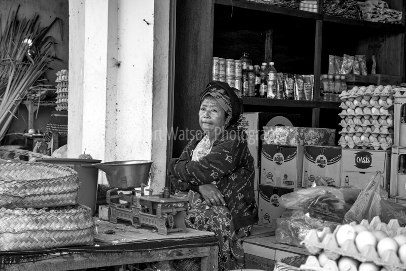 Food Market in Ubud district