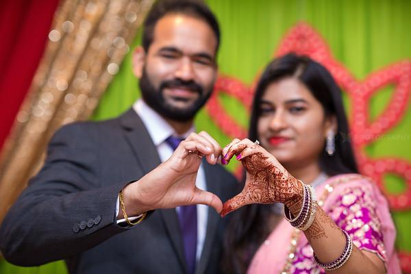 Deepika Akhil Engagement