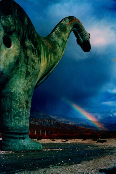 Dinasaur near Cabazon, CA