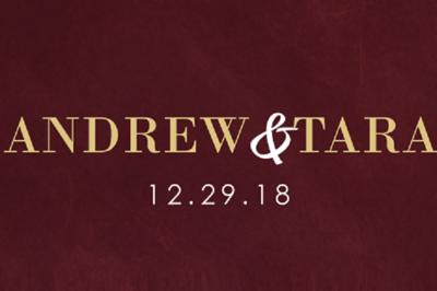 Andrew & Tara 12/29/18