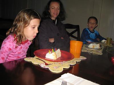 Olivia's Birthday Party Jan. 2014