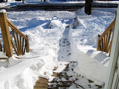 SNOW IN SAINT JOHN