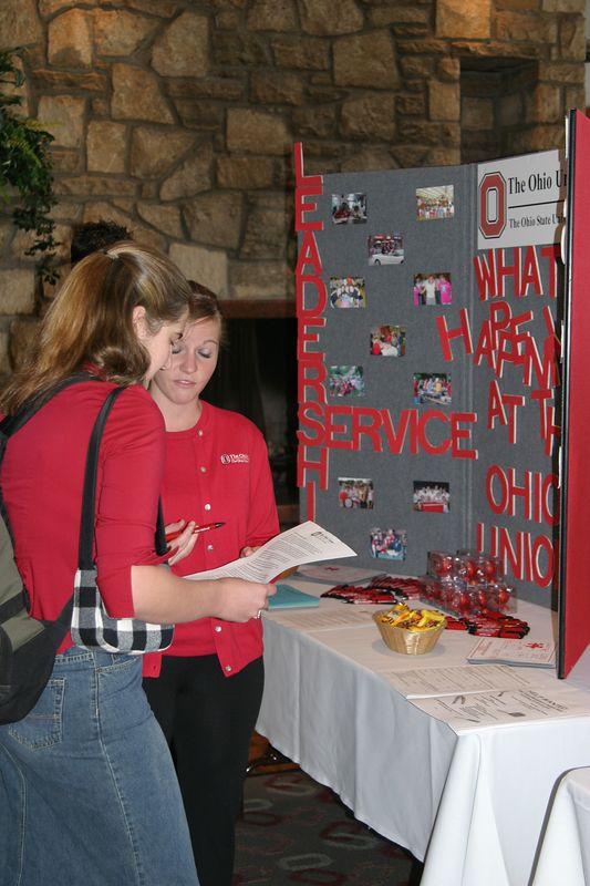Welcome Week Job Fair 2003