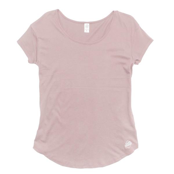 Outdoor Apparel - Organ Mountain Outfitters - Womens - Cotton Modal T-Shirt Rose.jpg