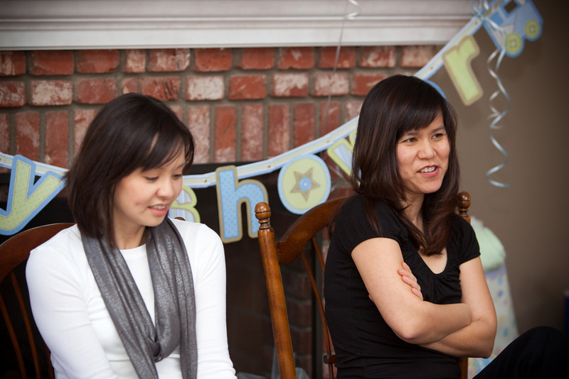 Valerie and Trang do not seem to be trying