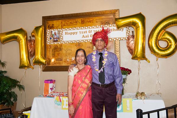 Mr. & Mrs. Tamhane's Birthday Party