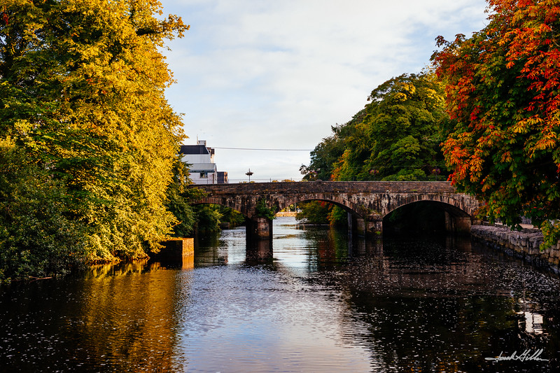 Bridge into Donegal over the River Eske