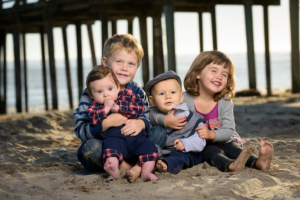 The Nunez Family (Family Photography) @ Capitola Beach
