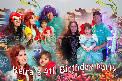 Keira's 4th Birthday Party