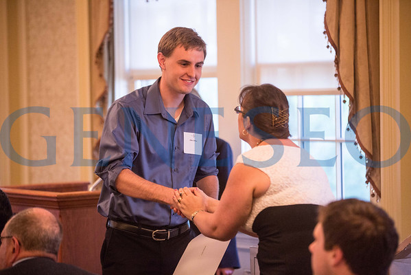 Phi Beta Kappa Induction (Spring 2013)