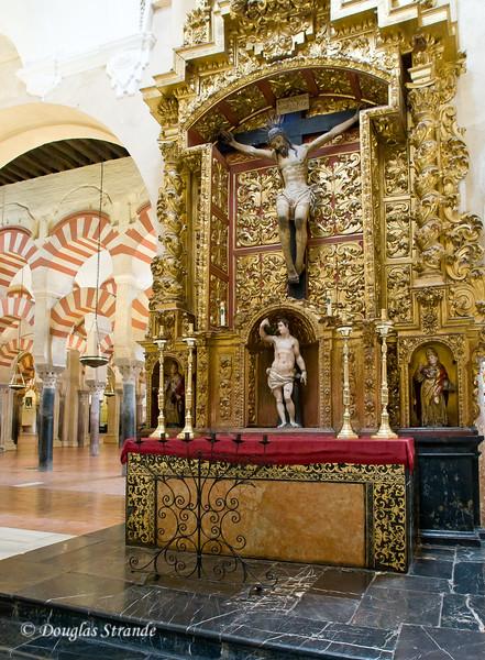 Thur 3/10 in Cordoba:  Inside the Mezquita