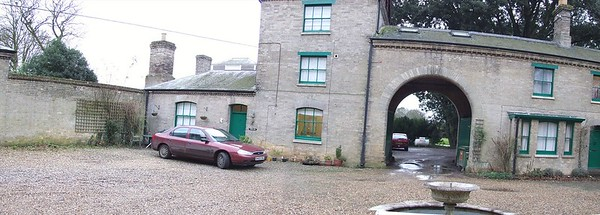 The courtyard before improvements.