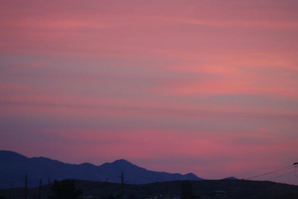 Arizona Sunsets February 2007