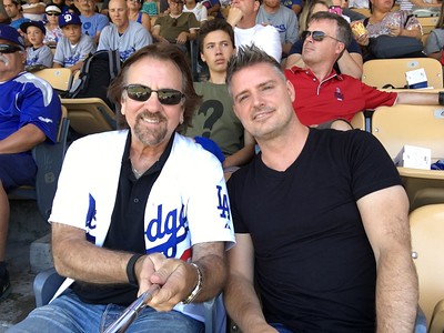 Patrick Fraiser at the Dodgers