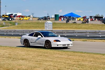 2020 SCCA TNiA July 29th Pitt Race Gray Dodge Stealth